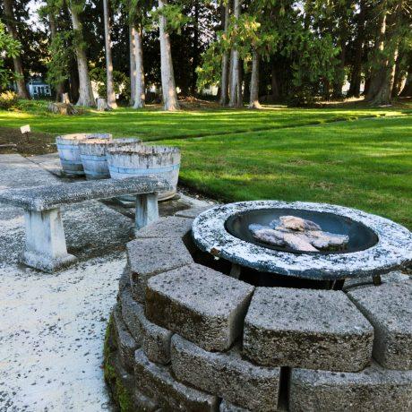 Park Village fire pit