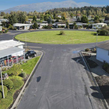 Park Village Aerial homes